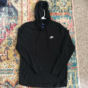 Black Nike Lightweight Jacket